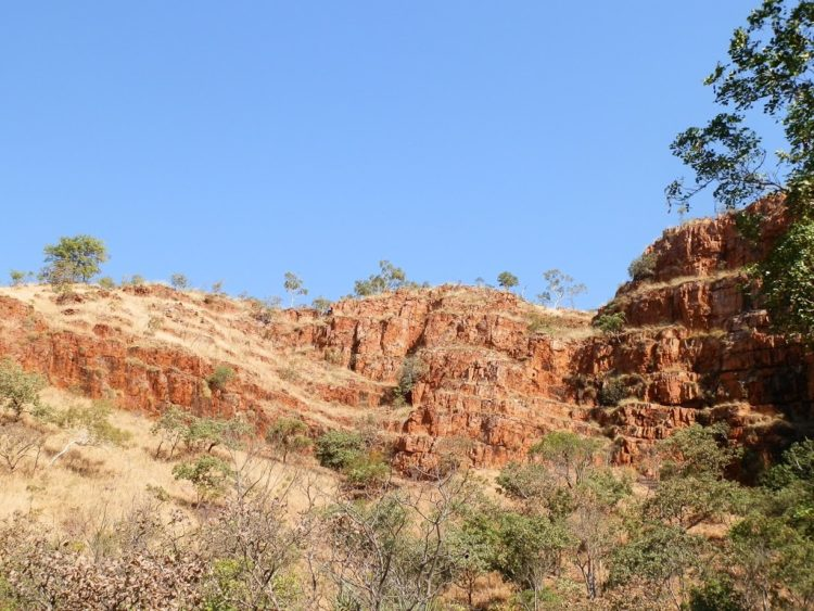 Black Rock Falls Gorge, via Kununurra