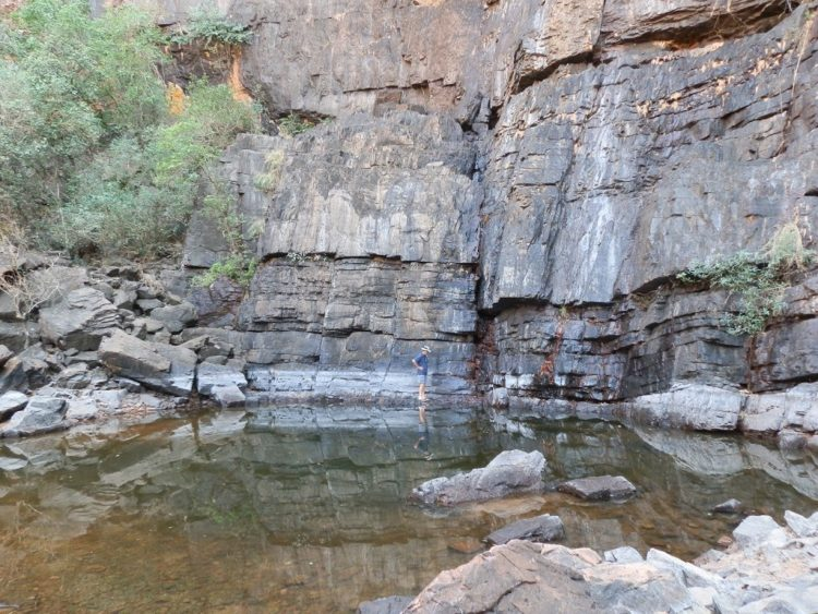Black Rock Falls Pool, via Kununurra, WA