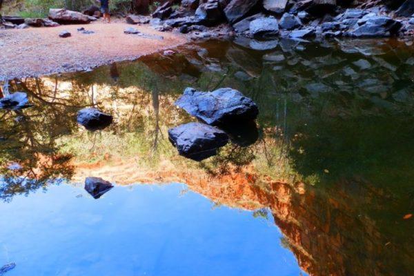 Reflections at Black Rock Falls, via Kununurra, Western Australia