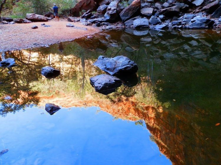 Reflections at Black Rock Falls, via Kununurra, Western Australia