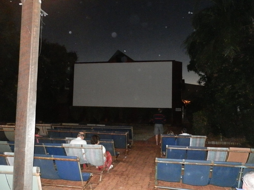Stars, Lens Dust and the big Screen, Sun Pictures, Broome, Western Australia