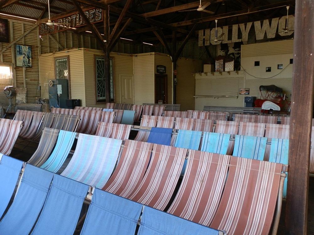 Sun Pictures Deckchairs, Broome, Western Australia