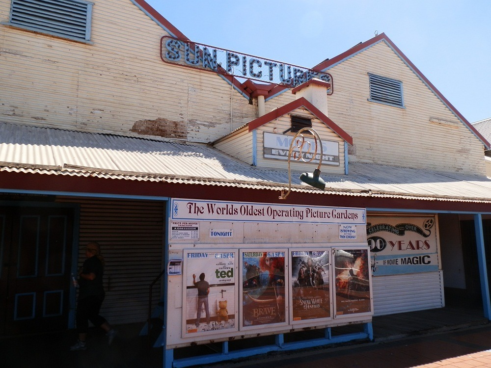 Sun Pictures Cinema by Day, Broome, Western Australia