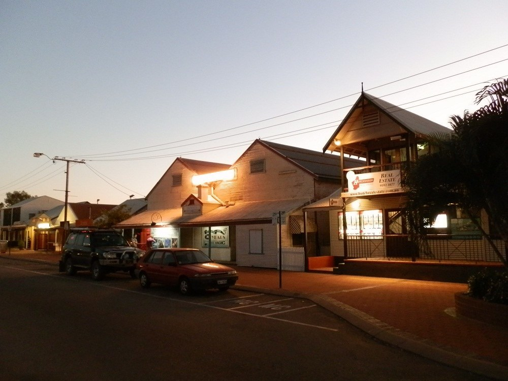Sun Pictures Cinema by Night, Broome, Western Australia
