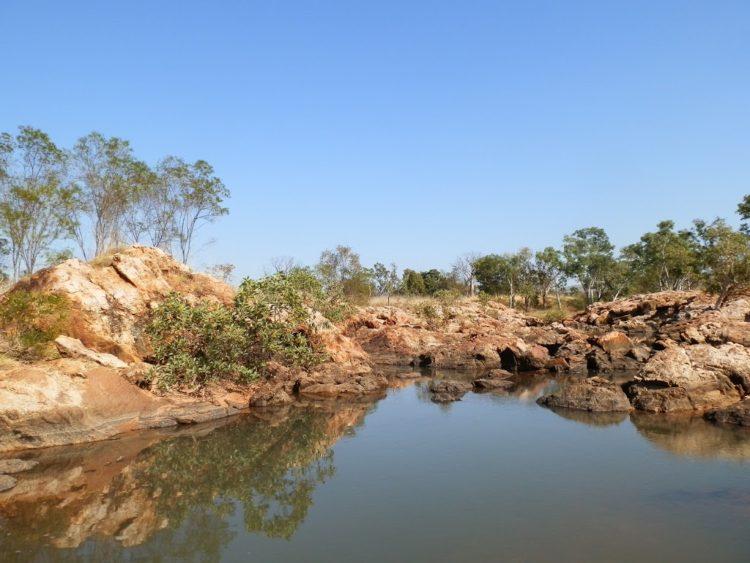 Victoria Springs, via Kununurra