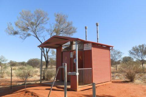 Scenic Public Toilet #28 - South Australia/Northern Territory Border