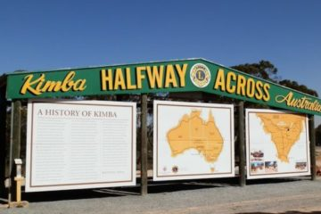 Half Way Across Australia - or is it??!! Kimba, South Australia