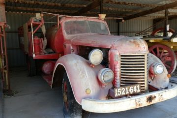 1942 ex-Fire Tender, Edithburgh, York Peninsula, South Australia