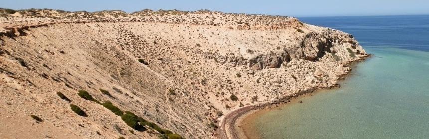 Eagle Bluff, via Denham, Shark Bay, Western Australia