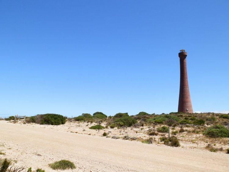 Troubridge Point Lighthouse, Southern Yorke Peninsula, South Australia