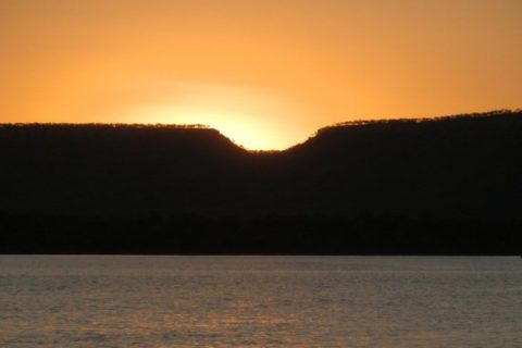 Victoria River Sunset, via Timber Creek, Northern Territory