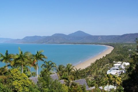 Four Mile Beach from Flagstaff Hill Lookout, Port Douglas, Queensland