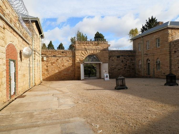Beechworth Gaol, where Ned Kelly was tried, Beechworth, Victoria
