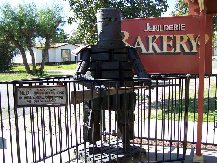 Bread-tin Ned, Jerilderie, New South Wales