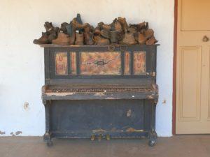 Glen Helen Resort Piano