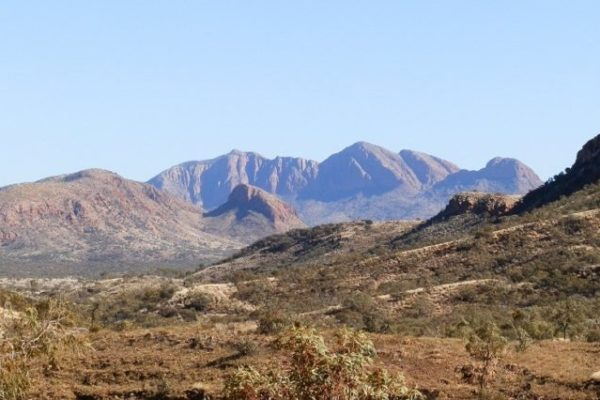 Mt Sonder from the Larapinta Trail, via Ormiston Gorge, Central Australia