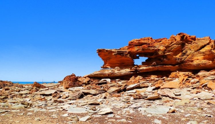 Rock formation, Broome, Western Australia