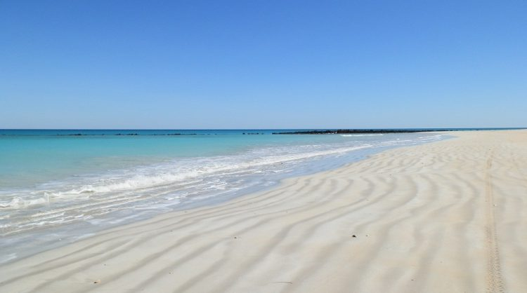 Coconut Wells Beach - with Dune Buggy Track!  via Broome, Western Australia