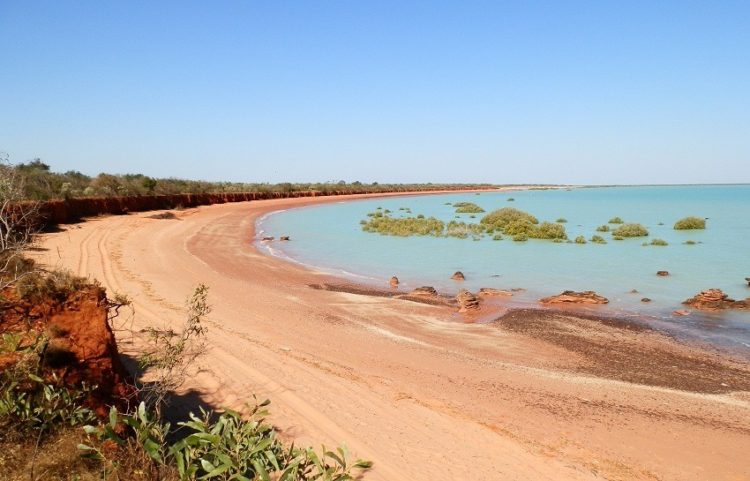 Roebuck Bay at Broome Bird Observatory Western Australia