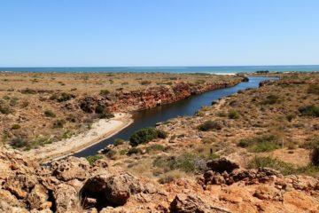 Yardie Creek Gorge, Cape Range National Park, via Exmouth, Western Australia