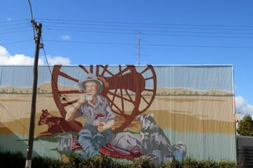 Carnamah Mural, Western Australia