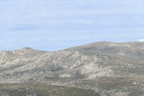 Mt Kosciuszko from Charlotte Pass Lookout, Snowy Mountains