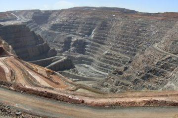 Kalgoorlie Consolidated Gold Mine Super Pit, Western Australia