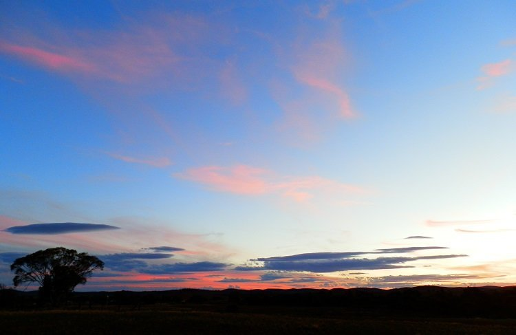 Sunset Carrieton South Australia
