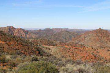 Coulthard Lookout View, Arkaroola Ridge-top Tour