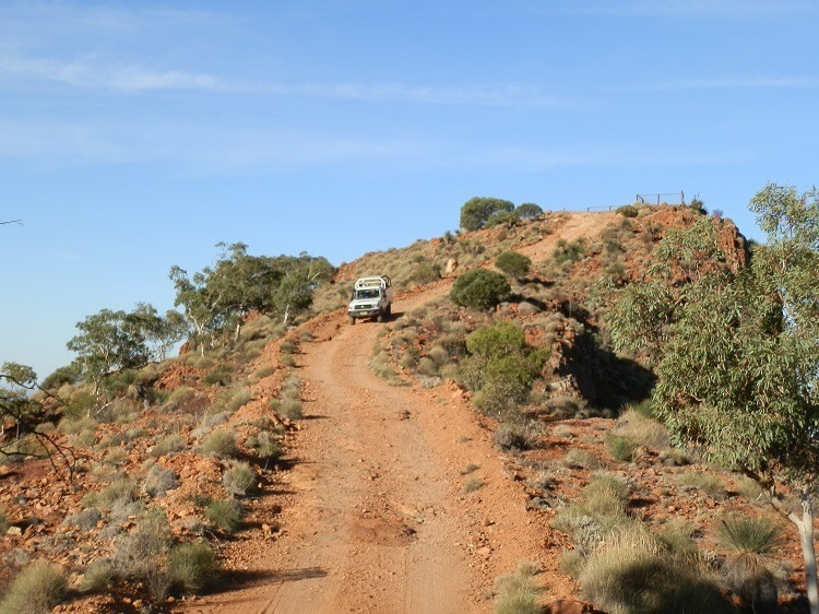 The descent from Sillers Lookout