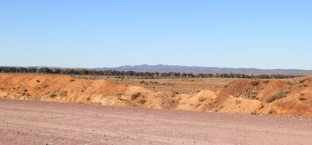 Bendleby Ranges from the Belton Road, via Carrieton South Australia