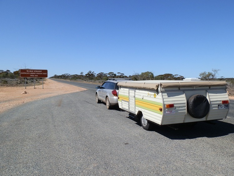 90 Mile Straight, Nullarbor Plain, South Australia
