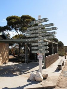 Eucla Signpost, Western Australia