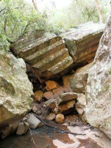 Fallen Columns, Sawn Rocks