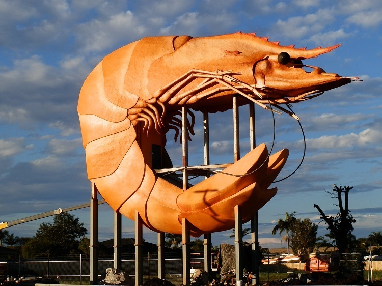 Good enough to EAT!  Big Prawn, Ballina, New South Wales