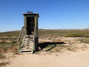 Classic Aussie Dunny, Quobba Blowholes, Western Australia