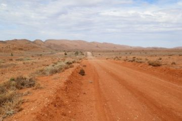 Outback Road via Copley, South Australia