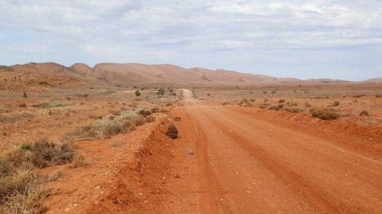 Outback Road via Copley, South Australia