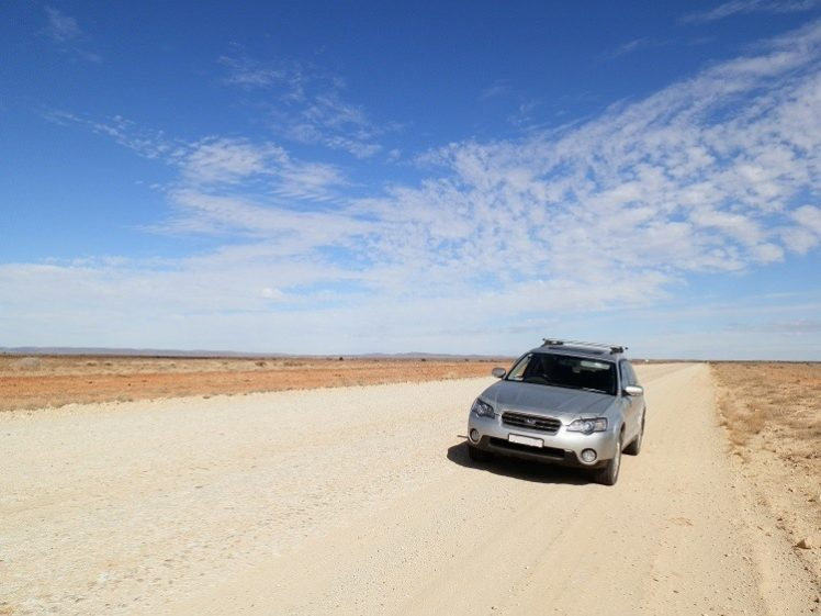 Strzelecki Track, via Lyndhurst, South Australia