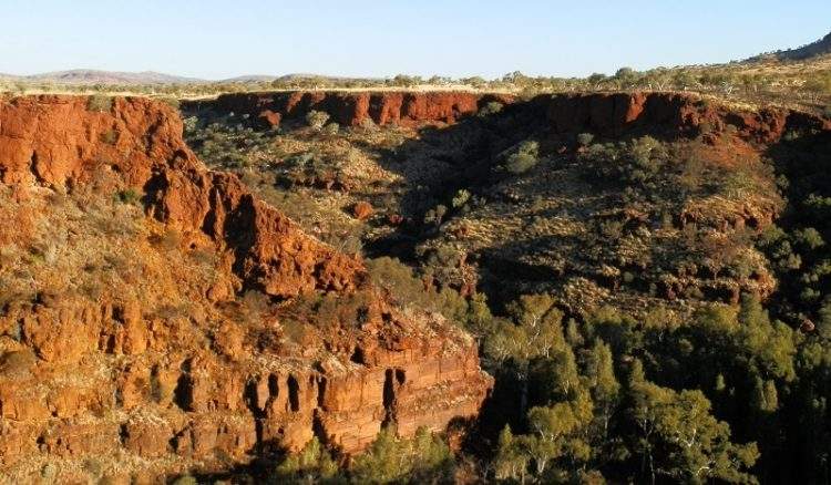View from Three Ways Lookout, Dales Gorge, Karijini National Park