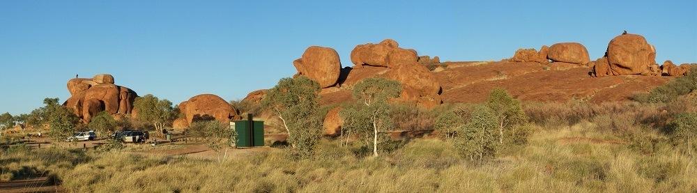 Karlu Karlu/Devils Marbles Campground, Northern Territory