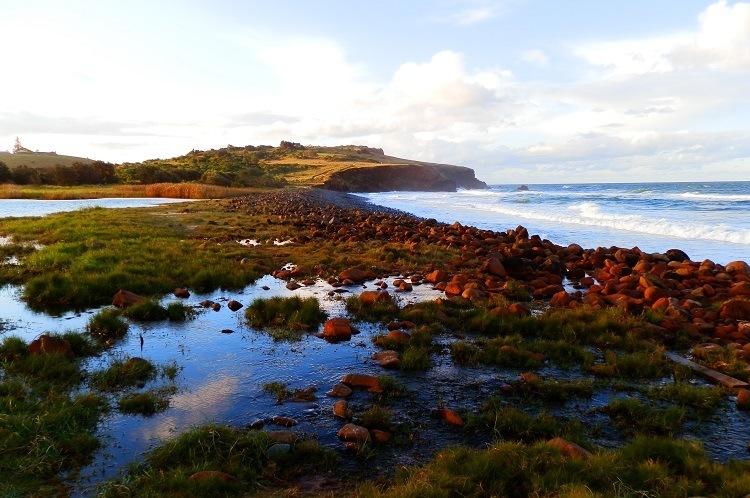Boulder Beach and Lennox Head, via Ballina, New South Wales