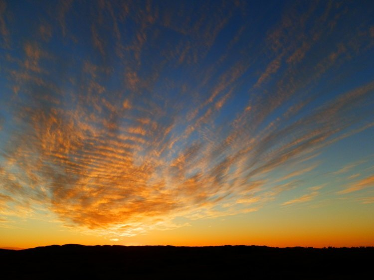 Copley Sunset, Outback South Australia