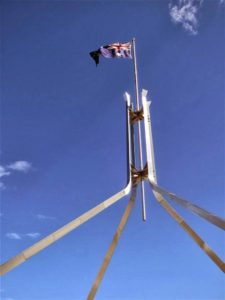 A reminder of Mother England in the Australian Flag