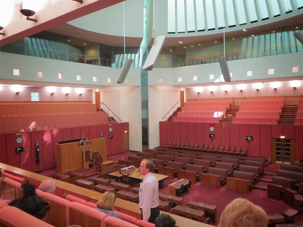 Senate Seats, Parliament House, Canberra, Australia