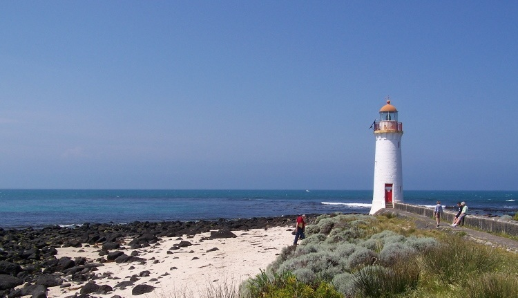Griffiths Island Lighthouse, Port Fairy, Victoria