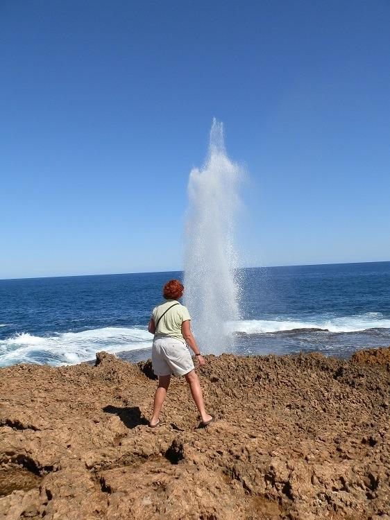 Quobba Blowholes, via Carnarvon, Western Australia
