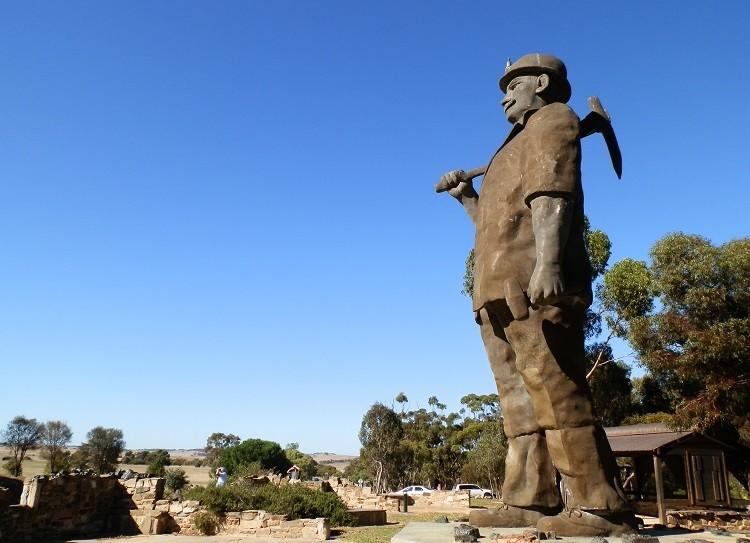 The BIG Miner - Map Kernow, or Son of Cornwall - Kapunda, South Australia