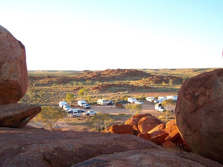 Karlu Karlu Campground, Northern Territory