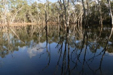 The Secret Lake in the Adelaide Hills, South Australia
